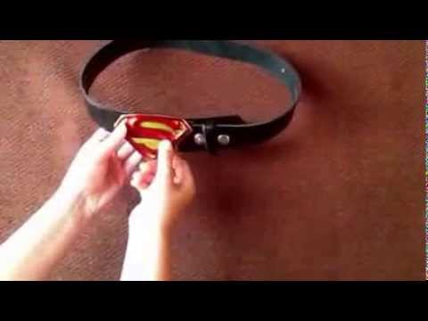 How to attach a Belt Buckle to a Belt by BBT Clothing