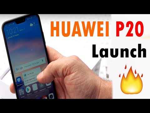 Huawei P20 Live from paris