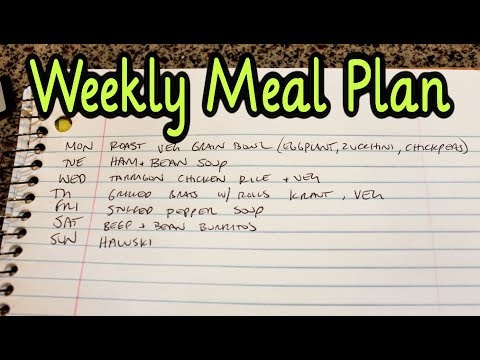 Meal Plan Monday #6 (with recipe links)