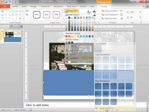 In PowerPoint: Create the picture with cutout artistic effects template