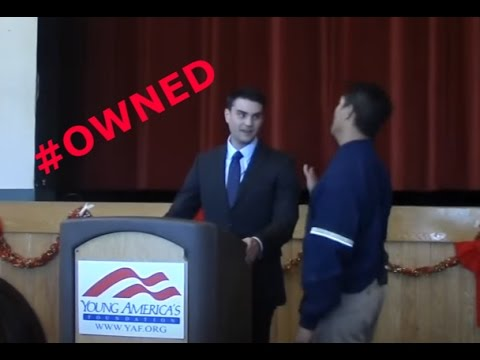 High School Teacher Confronts Ben Shapiro, Instantly Regrets It