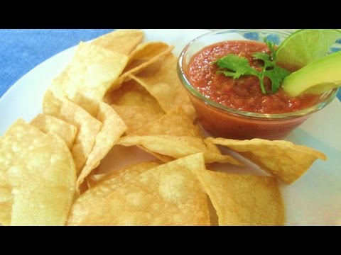 Corn Tortilla Chips - Mexican Food Restaurant Secrets  - PoorMansGourmet