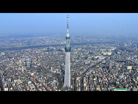 Here's How Engineers Used Ancient Techniques To Protect Tokyo's Skytree From Earthquakes