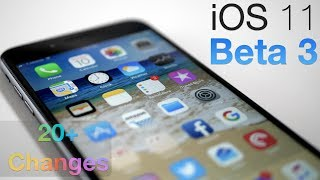 iOS 11 Beta 3 - What