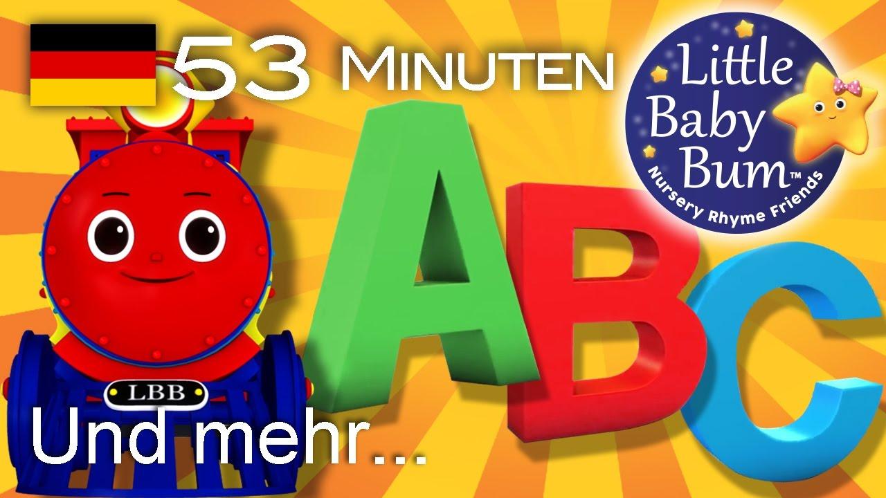 ABC-Zug Lied | Und noch viele weitere Kinderlieder | von LittleBabyBum