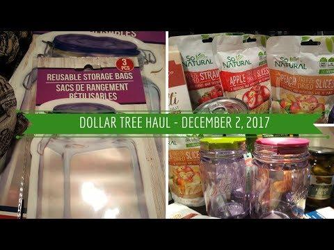 Dollar Tree Haul - December 2, 2017