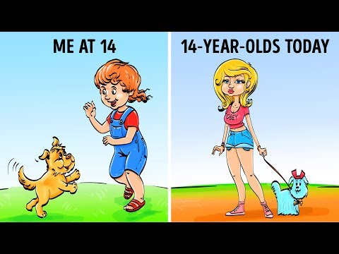 CHILDHOOD: THEN VS NOW