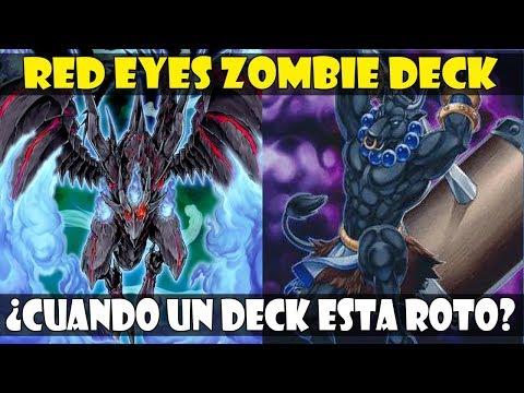RED EYES ZOMBIE DRAGON DECK | DEBATE: ¿CUANDO UN DECK ESTA ROTO? - DUEL LINKS