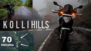Chennai To Kolli Hills In Duke 250 - Dangerous 74 Hairpin Bends | Tamil Vlog | Enowaytion Plus