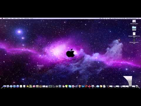 How To Change The Picture Of An Icon In Mac O.S. Ten
