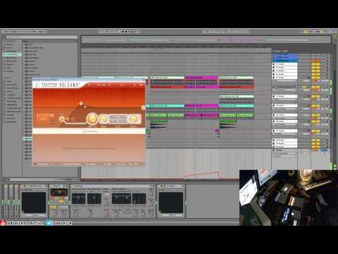 Ableton Live 9 - Making A Minimal Techno Track Start To Finish