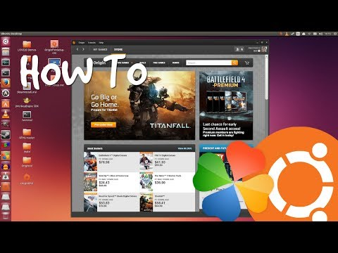 Install EA Origin On Ubuntu With PlayOnLinux