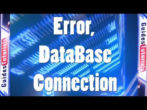 Error Establishing a Database Connection with Wordpress - Solution
