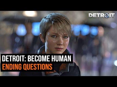 Detroit: Become Human Ending Questions