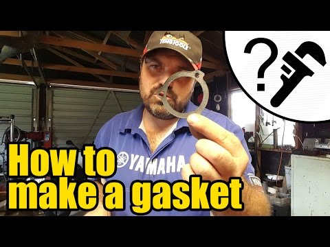 How to make a gasket the easy way #1921