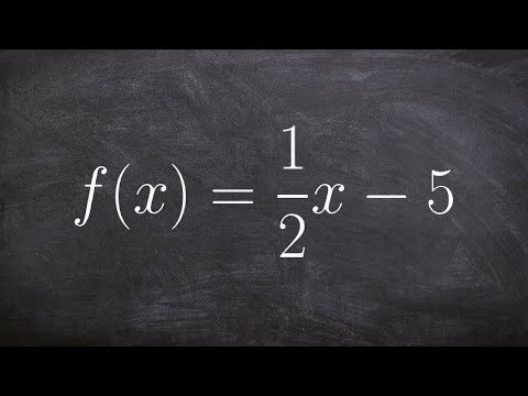 Find the domain and range of a function by using the inverse