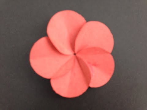 how to make  Scrapbook Flower by paper art its real and easy paper round flower watch and learn