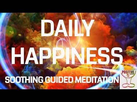 Meditation 10 Min for Daily Happiness Positive Self Esteem Self Love Relax & Receive Love Energy