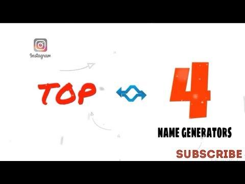 TOP 4 GOOD INSTAGRAM NAME GENERATORS