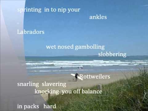 On Goolwa Beach - A Poem by Mike Hopkins