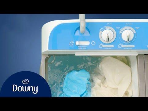How To Use Fabric Softener - Semi Auto | Downy