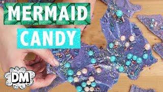 DIY Mermaid Candy Chocolate Bark! | Alyssa Vlogs