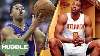 Dwight Howard and D'Angelo Russell Traded, Kawhi Leonard's New Hair -The Huddle