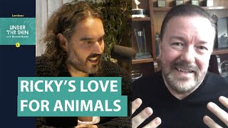Ricky Gervais & Russell Brand On Spirituality & Animals