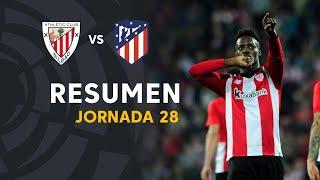 Resumen de Athletic Club vs Atlético de Madrid (2-0)