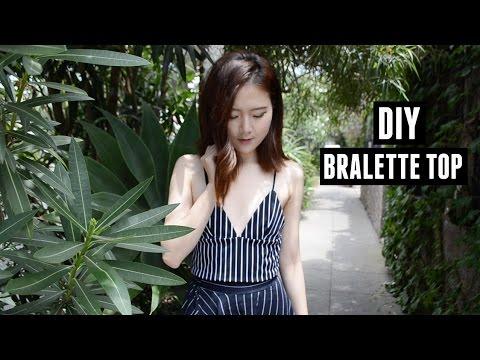 DIY Bralette Tank Top