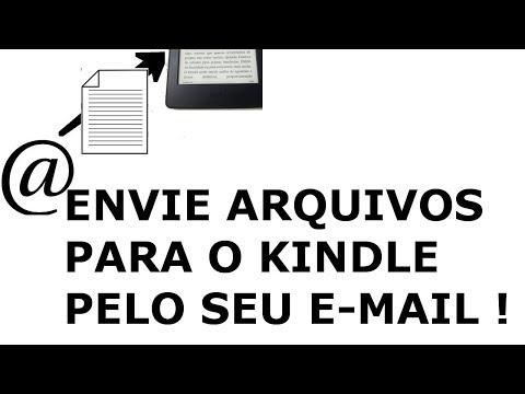 Como enviar e converter arquivos de texto para o Kindle por e-mail