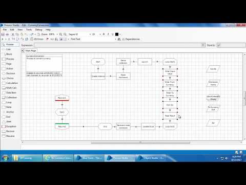 Blue Prism Video Tutorial | 027 | Exception bubbling and pages in detail