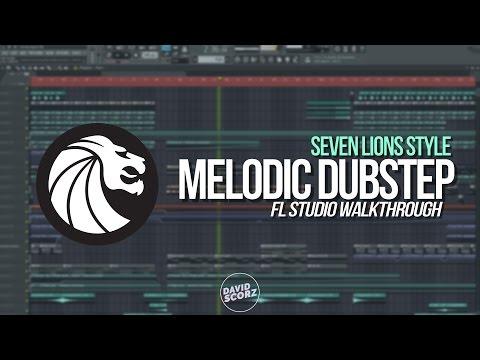 Fl Studio 12 - Melodic Dubstep (Seven Lions Style) Project [FLP Walkthrough]