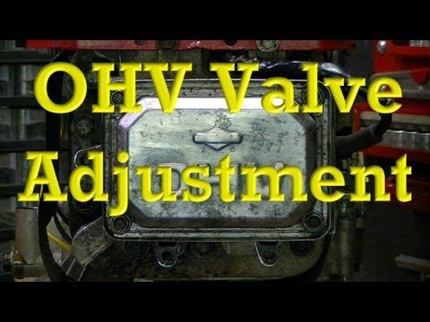Valve Adjustment Procedure for Champion Generator