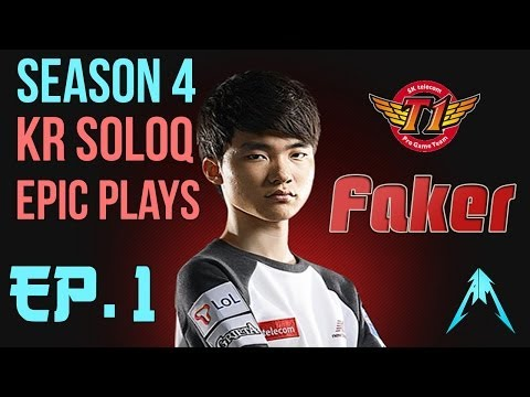 SKT T1 Faker - SoloQ Epic Plays With LeBlanc Ep.1