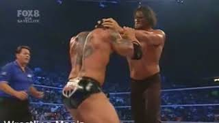 The Great Khali vs Batista -Smackdown 2007 -Khali Almost Killed Batista