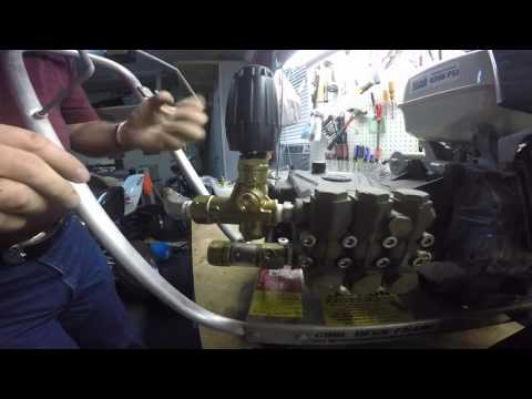 How to Regulate, Adjust the Pressure of an Unloader