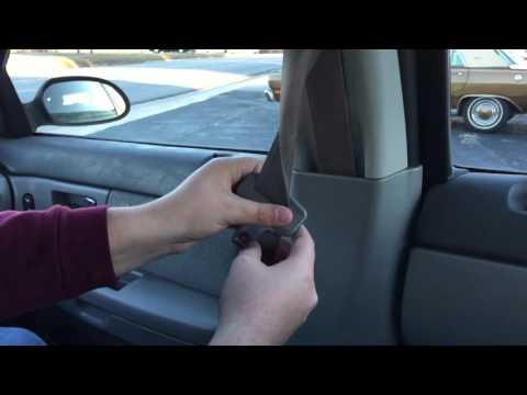 How To Untangle / Untwist Your Seat Belt
