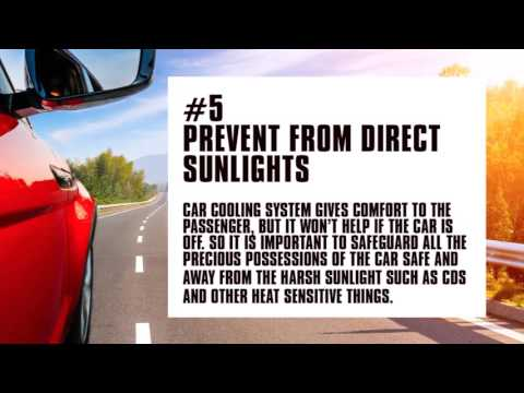 9 Cool Tips to Keep Your Car Cool This Summer