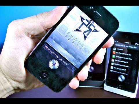 How To Install SIRI on iPhone 4/3Gs iPod Touch 4G/3G & iPad 3/2/1 5.1.1 - Full SiriPort & Dictation