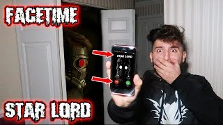 CALLING STAR LORD ON FACETIME AT 3 AM IN A HAUNTED HOUSE | STAR LORD ATTACKED MY FRIEND AT 3 AM