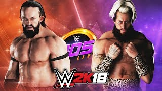 WWE 2K18 - NEVILLE vs ENZO (205 LIVE ARENA!! NEW EXCLUSIVE GAMEPLAY!!)