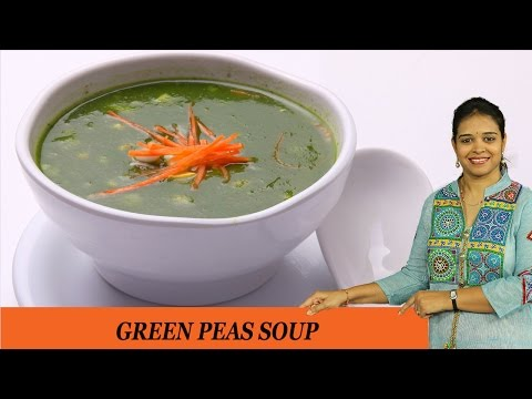 GREEN PEAS SOUP - Mrs Vahchef