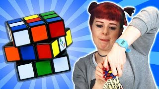Drunk People Try Solve A Rubik