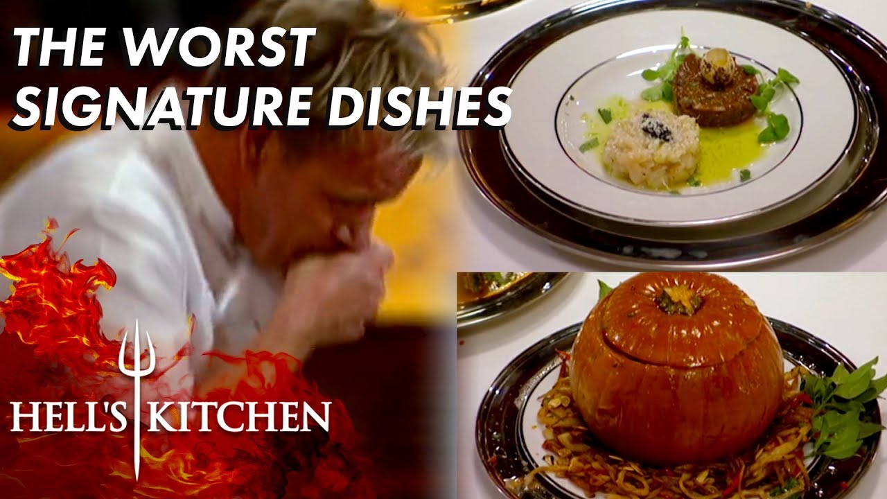 The WORST Signature Dishes In Hell's Kitchen   Part One