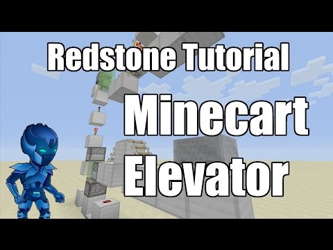 How to make a minecart elevator in minecraft xbox -