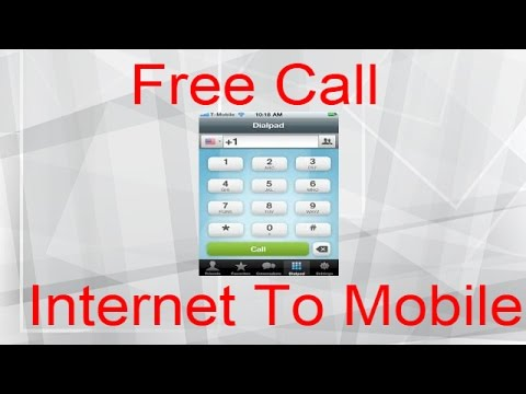 Free Internet Calls From PC To Mobile | internet se mobile par call kese kare ?
