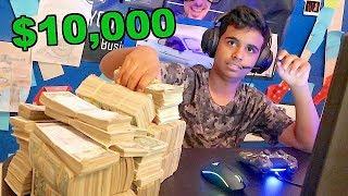 INSANE $10,000 WAGER MATCH !!!