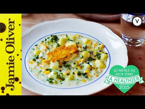Healthy Corn Chowder | #10HealthyMeals | Donal Skehan