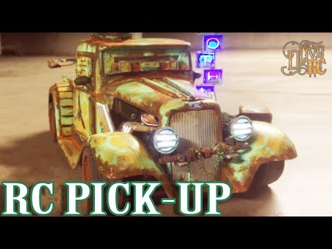 RC POST APOCALYPTIC FORD 34 PICKUP (PAINT)